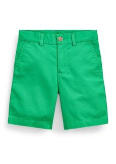 Ralph Lauren Childrenswear Boy's Tissue Chino Flat-Front Shorts  Size 2-4