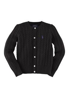 Ralph Lauren Childrenswear Cable Knit Cardigan