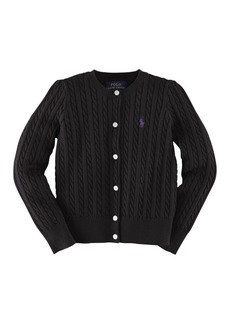 Ralph Lauren Childrenswear Cable Knit Cardigan