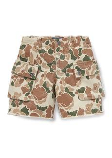 Ralph Lauren Childrenswear Camo Cargo Shorts  Size 5-7