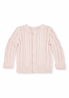 Ralph Lauren Childrenswear Cotton Cable-Knit Cardigan  6-24 Months