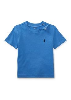 Ralph Lauren Childrenswear Cotton Jersey Crewneck Tee  Size 3-24 Months