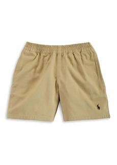 Ralph Lauren Childrenswear Little Boy's Cotton Chino Pull-On Shorts