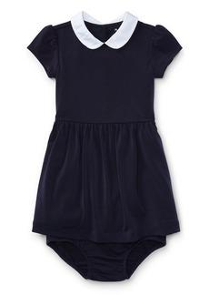 Ralph Lauren Childrenswear Crepe Jersey Dress w/ Bloomers