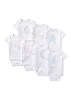 Ralph Lauren Childrenswear Day of the Week Bodysuit Set