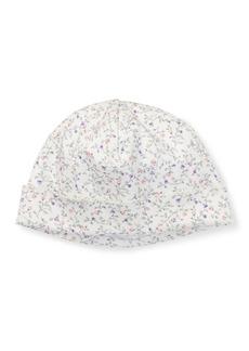 Ralph Lauren Childrenswear Floral-Print Baby Hat