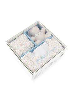 Ralph Lauren Childrenswear Floral-Print Interlock Layette Set