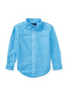 Ralph Lauren Childrenswear Garment Dye Oxford Shirt