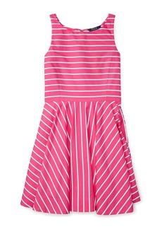 RALPH LAUREN CHILDRENSWEAR Girls 2-6x Toddler's, Little Girl's & Girl's Striped Fit-&-Flare Dress