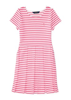 RALPH LAUREN CHILDRENSWEAR Girls 2-6x Toddler's, Little Girl's & Girl's Striped Ponte Dress
