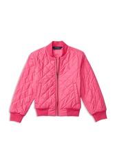 Ralph Lauren Childrenswear Girls' Baseball Jacket - Little Kid
