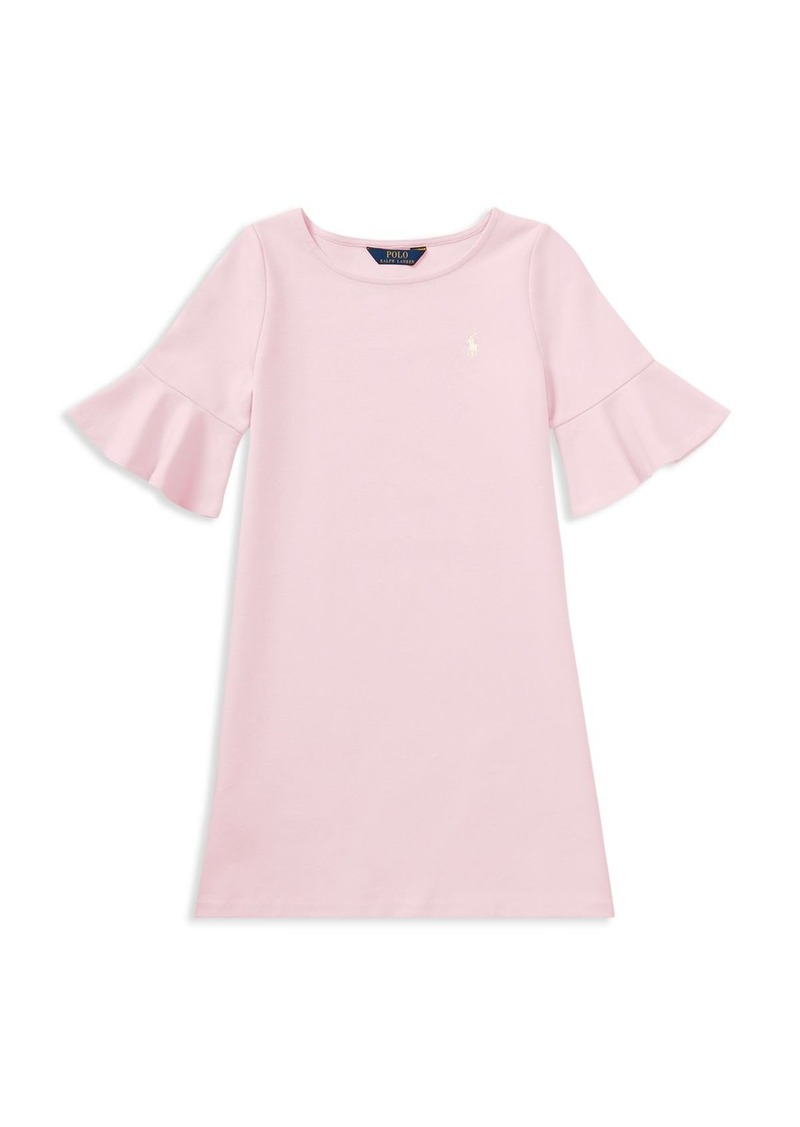Childrenswear Girls' Bell-Sleeve Dress - Little Kid