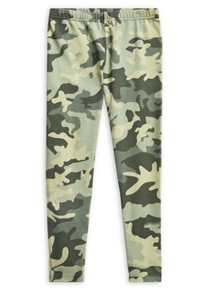 Ralph Lauren Childrenswear Girl's Camo Stretch Leggings