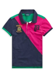 Ralph Lauren Childrenswear Girl's Colorblock Polo Shirt