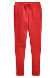 Ralph Lauren Childrenswear Girl's Cotton-Blend French Terry Pants