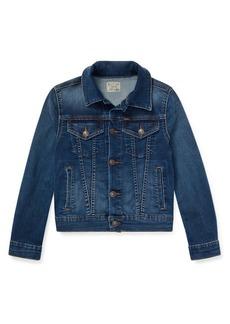 Ralph Lauren Childrenswear Girl's Denim Jacket