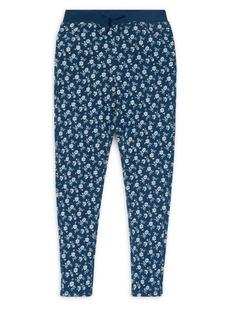 Ralph Lauren Childrenswear Girl's Floral Print Pants