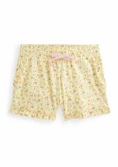 Ralph Lauren Childrenswear Girl's Floral-Print Ruffle Shorts  Size 2-4