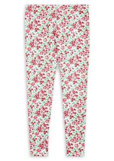 Ralph Lauren Childrenswear Girl's Floral Stretch Jersey Leggings