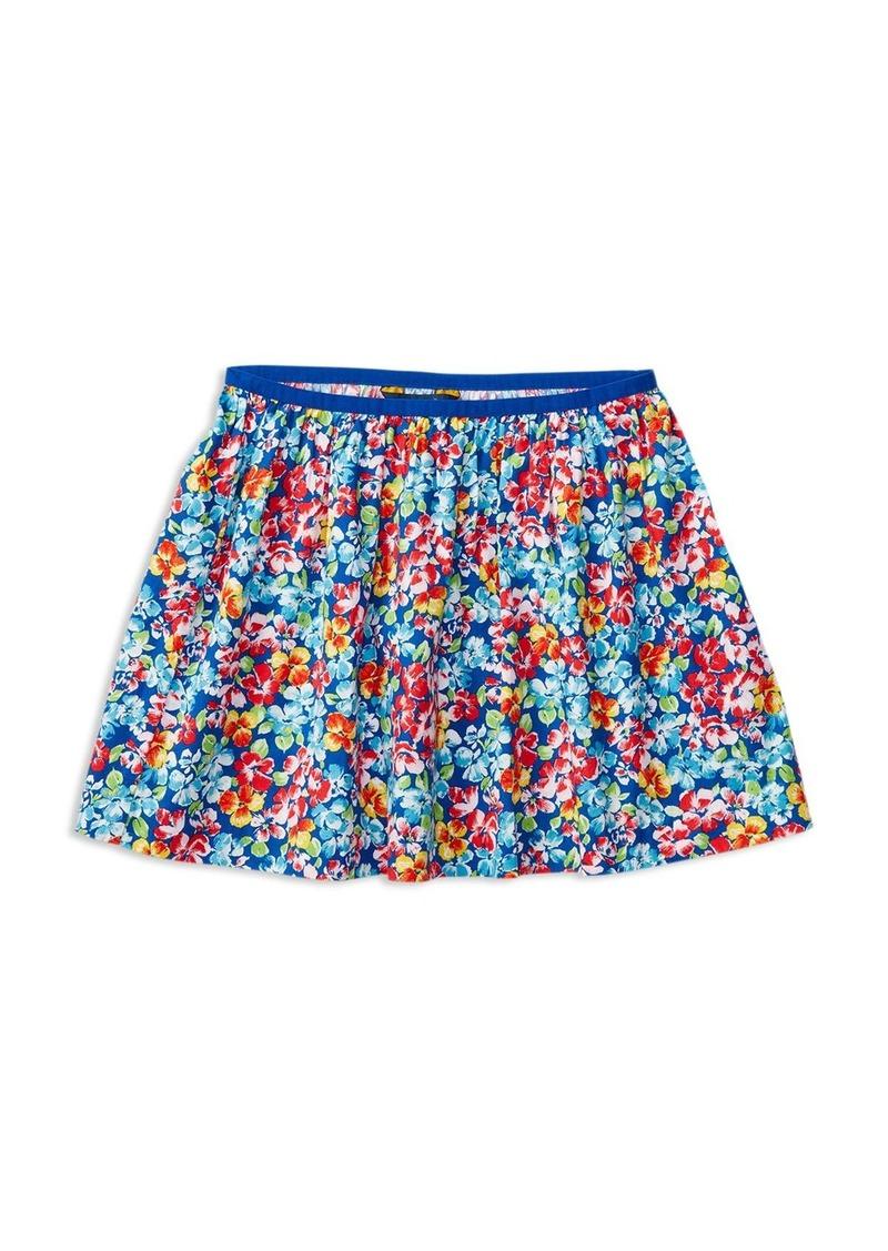 Ralph Lauren Childrenswear Girls' Gathered Floral Skirt - Big Kid
