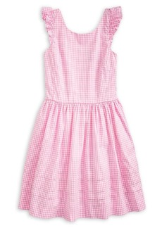 Ralph Lauren Childrenswear Girl's Gingham Cotton Dress