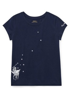 Ralph Lauren Childrenswear Girl's Graphic Cotton Top