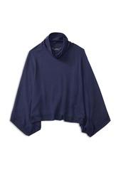 Ralph Lauren Childrenswear Girls' Lux Fleece Poncho - Little Kid