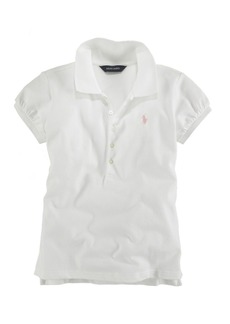 Ralph Lauren: Polo Polo Ralph Lauren Girls' Mesh Knit Polo - Big Kid
