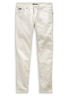 Ralph Lauren Childrenswear Girl's Metallic Skinny Jeans