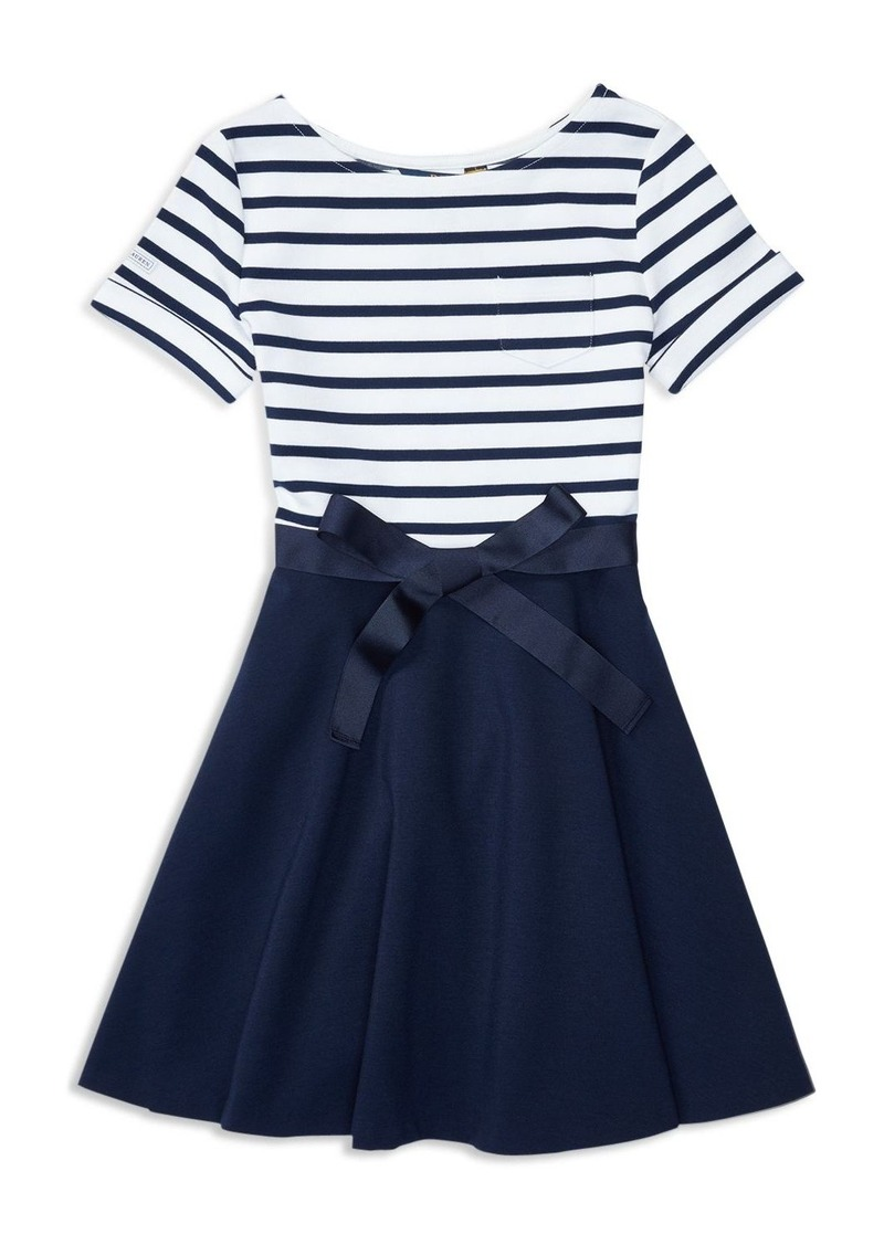 Ralph Lauren Childrenswear Girls' Nautical Knit Dress - Sizes S-XL