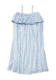 Ralph Lauren Childrenswear Girls' Paisley Ruffle Dress - Big Kid