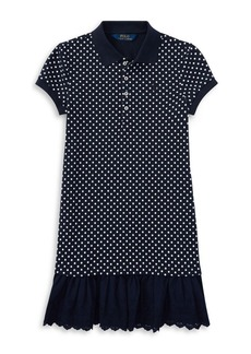 Ralph Lauren Childrenswear Toddler's, Little Girl's & Girl's Polka Dot Dress