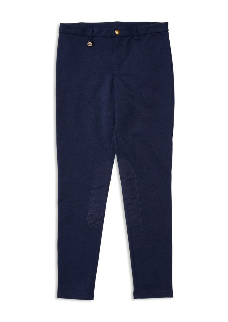 Ralph Lauren Childrenswear Girls' Slim Equestrian Knit Pants - Sizes S-XL