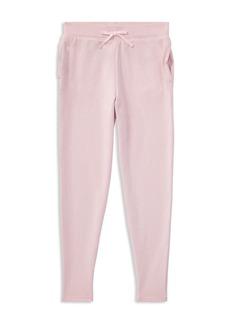 Ralph Lauren: Polo Polo Ralph Lauren Girls' Slim-Fit Terry Sweatpants - Little Kid