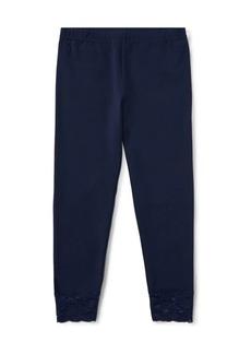 Ralph Lauren Childrenswear Girl's Stretch-Cotton Leggings