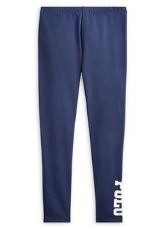 Ralph Lauren Childrenswear Girl's Stretch Jersey Leggings