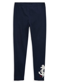 Ralph Lauren Childrenswear Girl's Stretch Leggings