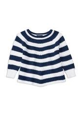 Ralph Lauren Childrenswear Girls' Stripe Cotton Sweater - 2-6X