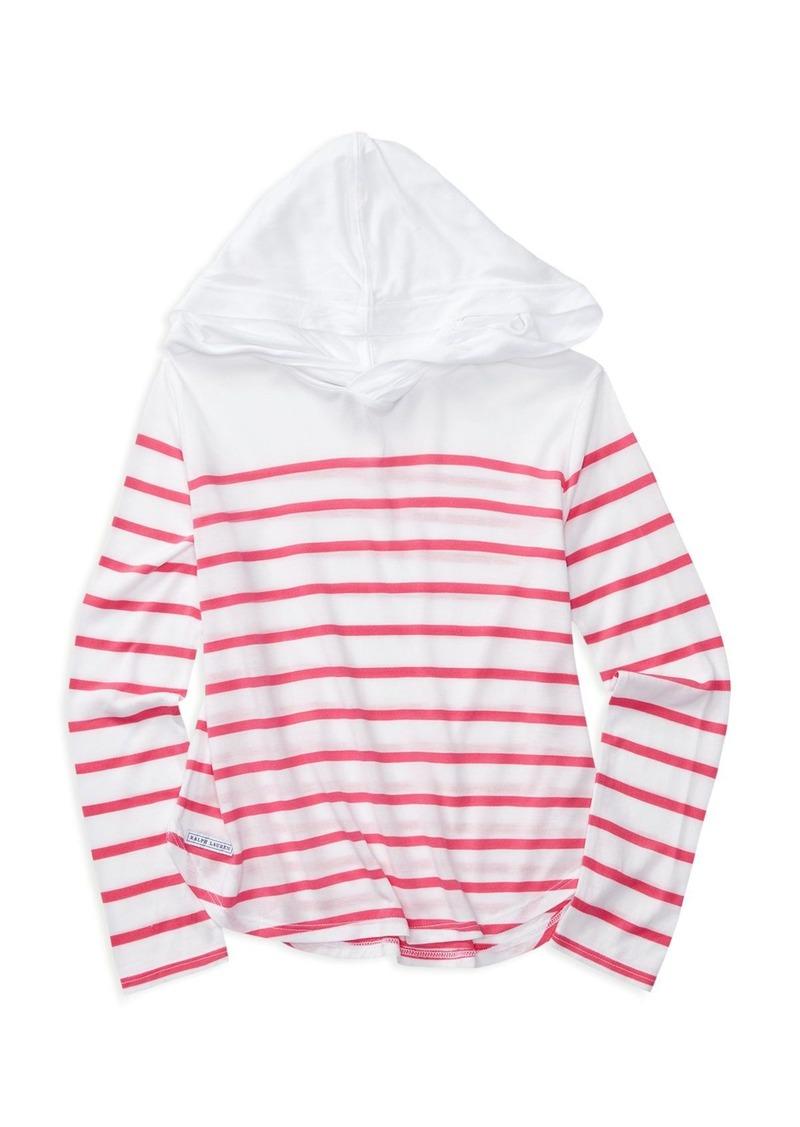 Ralph Lauren Childrenswear Girls' Striped Hoodie - Sizes S-XL
