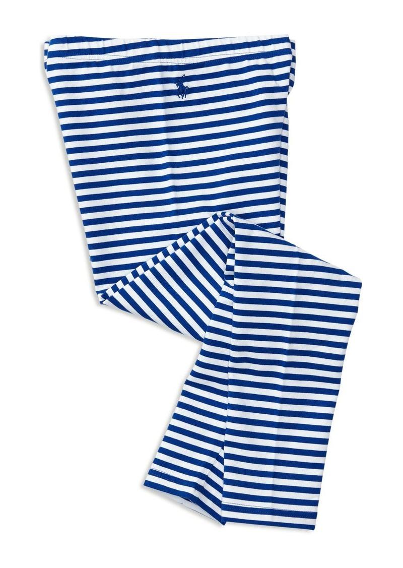 Ralph Lauren Childrenswear Girls' Striped Leggings - Sizes S-XL