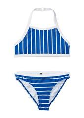 Ralph Lauren Childrenswear Girls' Striped 2-Piece Swimsuit - Sizes 7-16