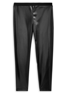 Ralph Lauren Childrenswear Girl's Vegan Leather Legging