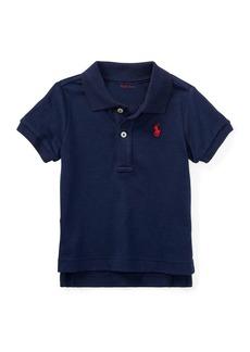Ralph Lauren Childrenswear Interlock Polo Knit Shirt  Size 3-24 Months