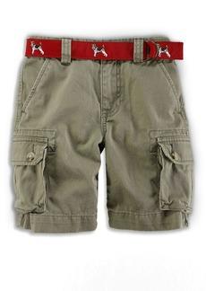 Ralph Lauren Childrenswear Little Boy's & Boy's Cotton Chino Cargo Shorts
