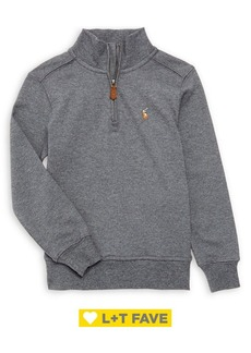 Ralph Lauren Childrenswear Boy's Half Zip Pullover Sweater