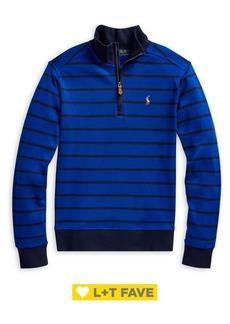 Ralph Lauren Childrenswear Boy's Cotton Interlock Pullover