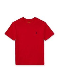 Ralph Lauren Childrenswear Little Boy's & Boy's Cotton Jersey Crewneck Tee