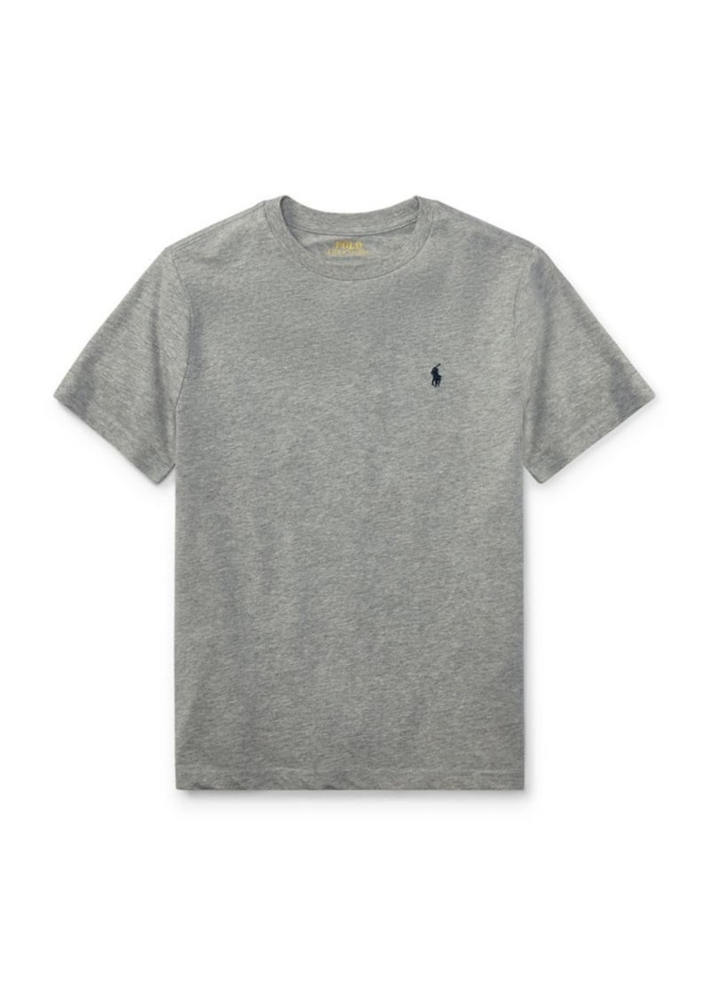 Ralph Lauren Childrenswear Boy's Cotton Jersey Crewneck T-Shirt