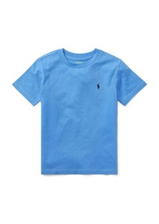 Ralph Lauren Childrenswear Little Boy's & Boy's Cotton Jersey Crewneck Tee