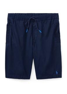 Ralph Lauren Childrenswear Little Boy's & Boy's Embroidered Logo Cotton Chino Shorts
